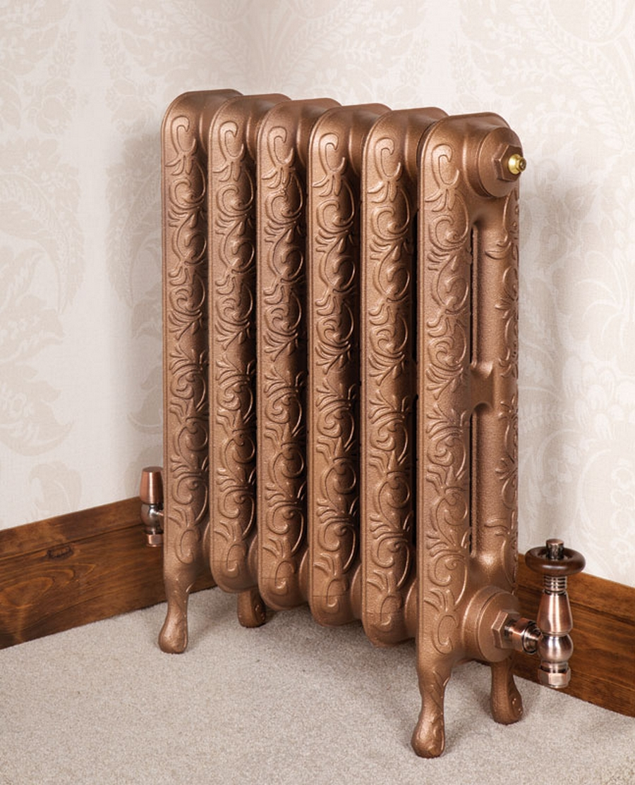Модные чугунные радиаторы отопления в интерьере вашего дома 25