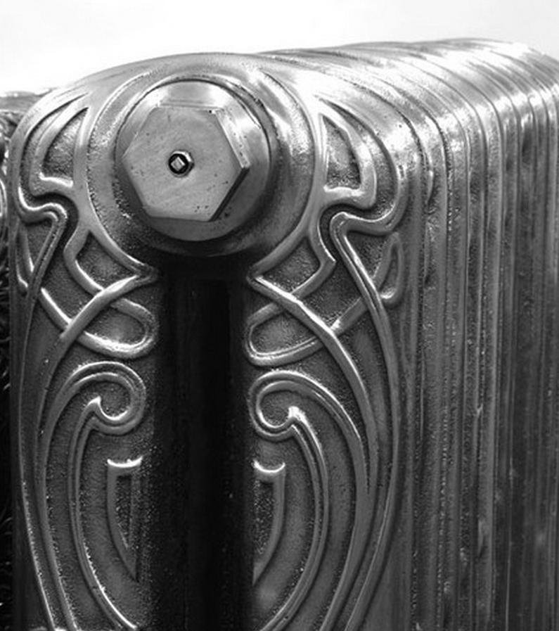 Модные чугунные радиаторы отопления в интерьере вашего дома 27