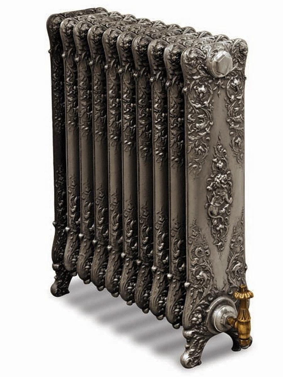 Модные чугунные радиаторы отопления в интерьере вашего дома 29