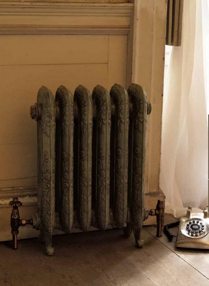 Модные чугунные радиаторы отопления в интерьере вашего дома 30