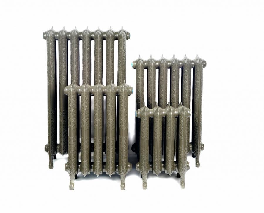 Модные чугунные радиаторы отопления в интерьере вашего дома 31