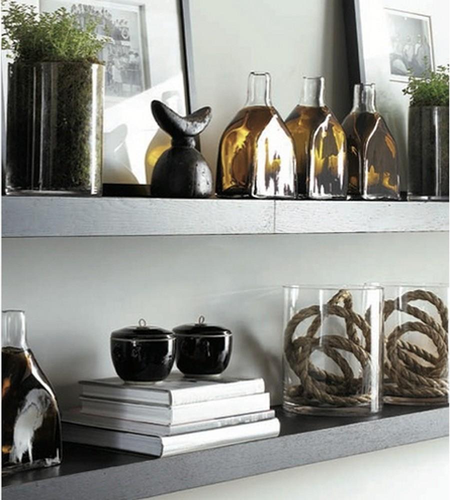 Стеклянная ваза - изысканное украшение к празднику  2