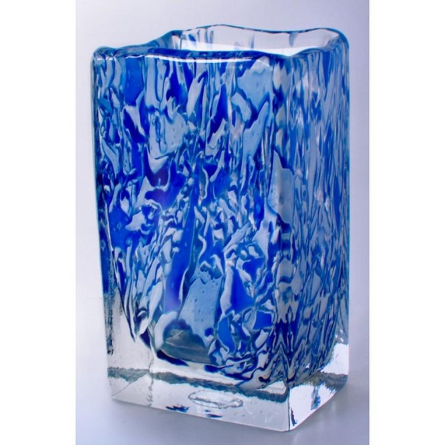 Стеклянная ваза - изысканное украшение к празднику  3