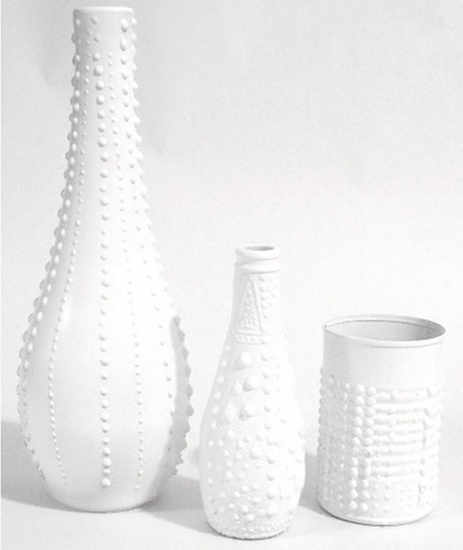 Стеклянная ваза - изысканное украшение к празднику  15