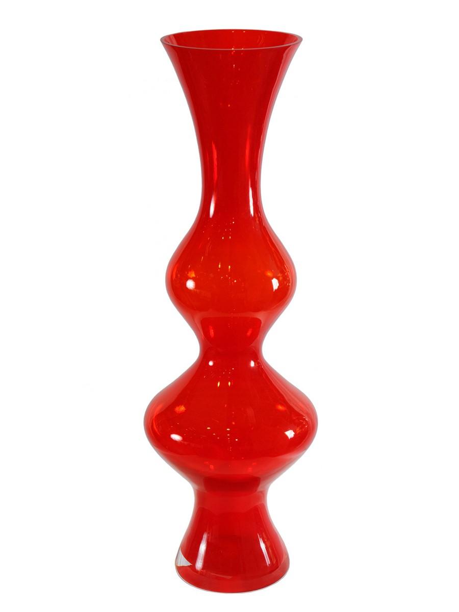 Стеклянная ваза - изысканное украшение к празднику  16