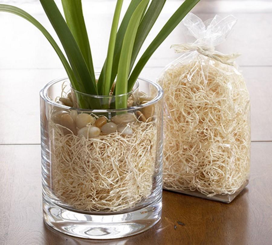 Стеклянная ваза - изысканное украшение к празднику  17