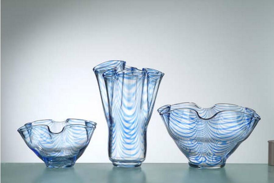 Стеклянная ваза - изысканное украшение к празднику  21
