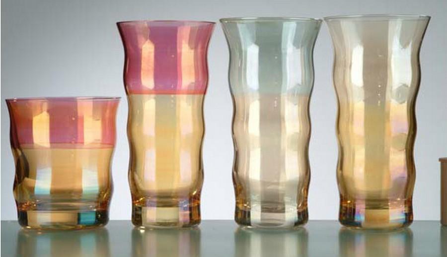Стеклянная ваза - изысканное украшение к празднику  22