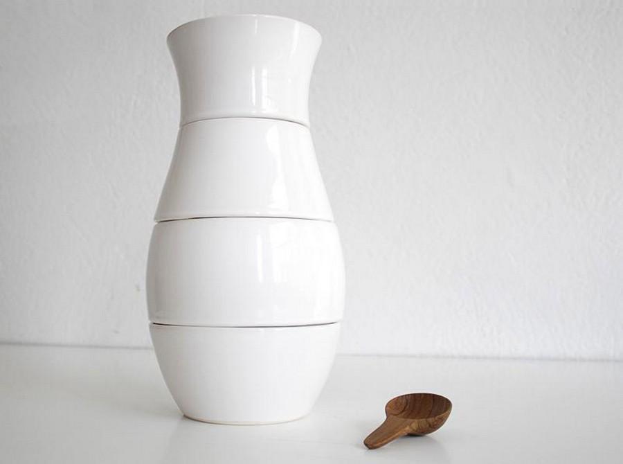 Стеклянная ваза - изысканное украшение к празднику  30