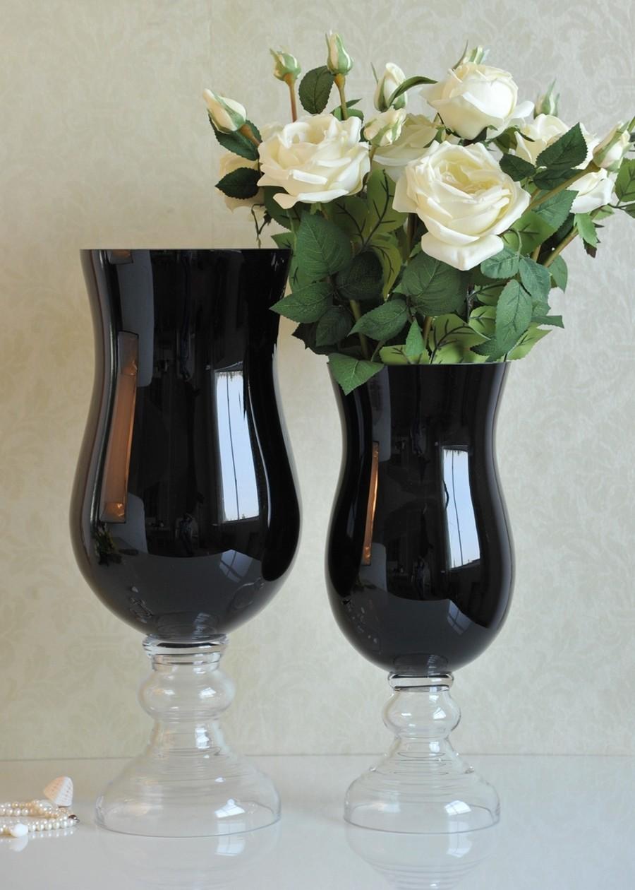 Стеклянная ваза - изысканное украшение к празднику  37