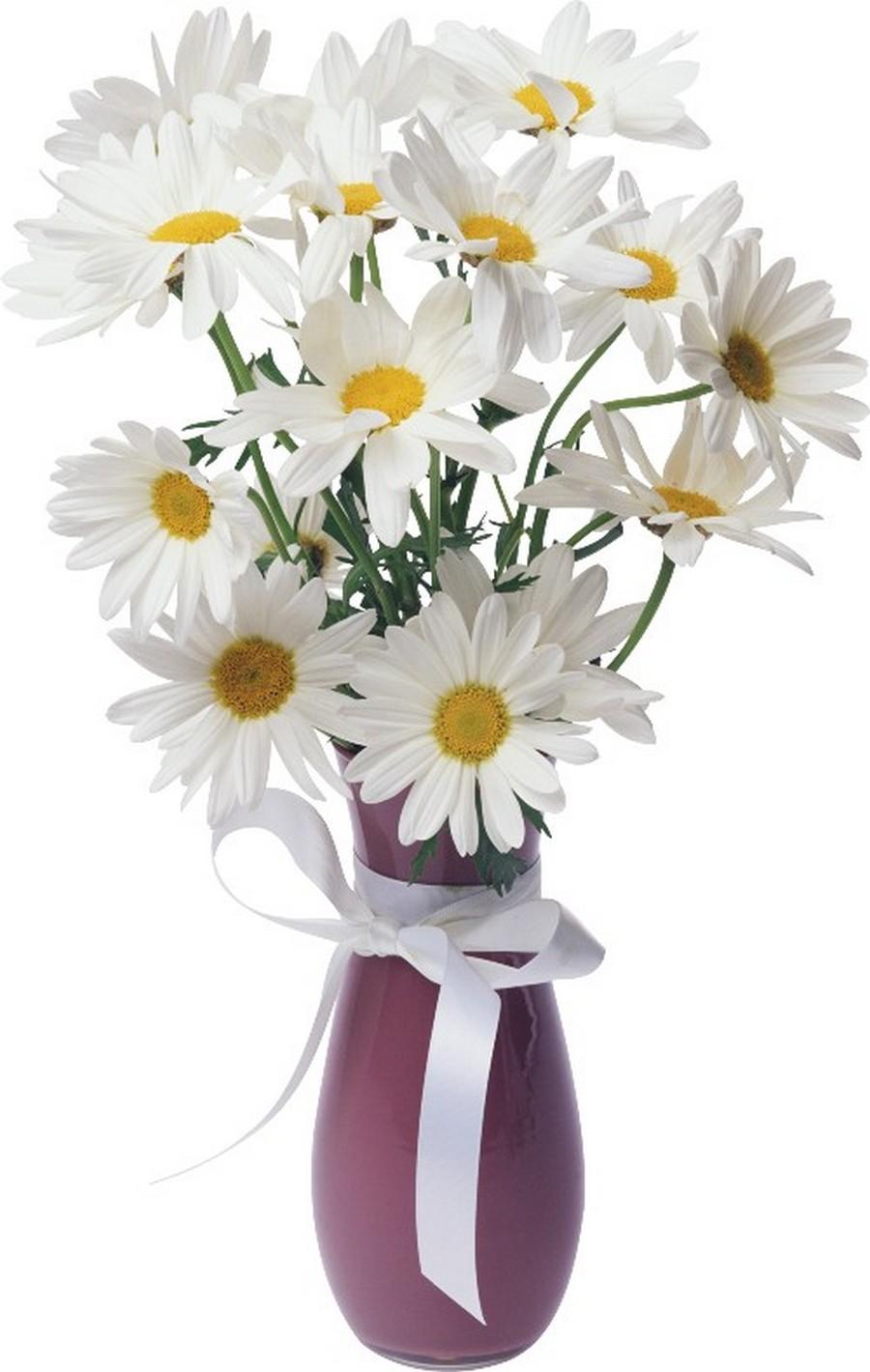 Стеклянная ваза - изысканное украшение к празднику  39