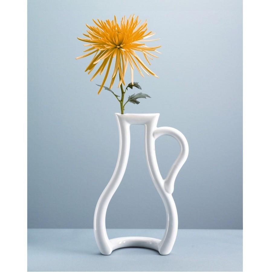 Стеклянная ваза - изысканное украшение к празднику  42