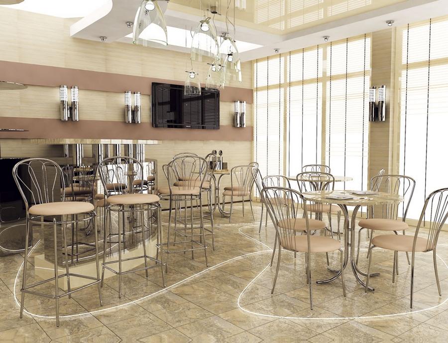 Современная мебель для ресторанов и кафе 2