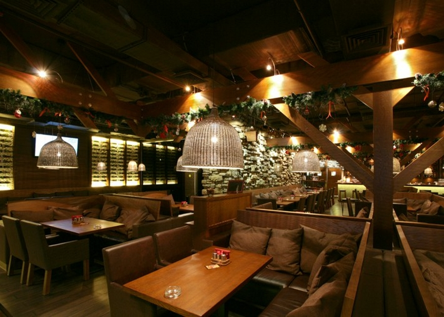 Современная мебель для ресторанов и кафе 4