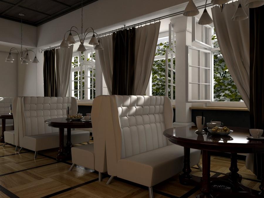 Современная мебель для ресторанов и кафе 9