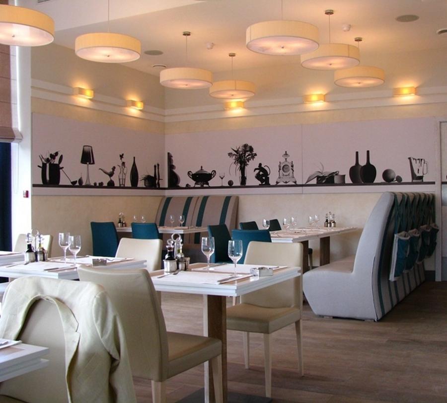 Современная мебель для ресторанов и кафе 11