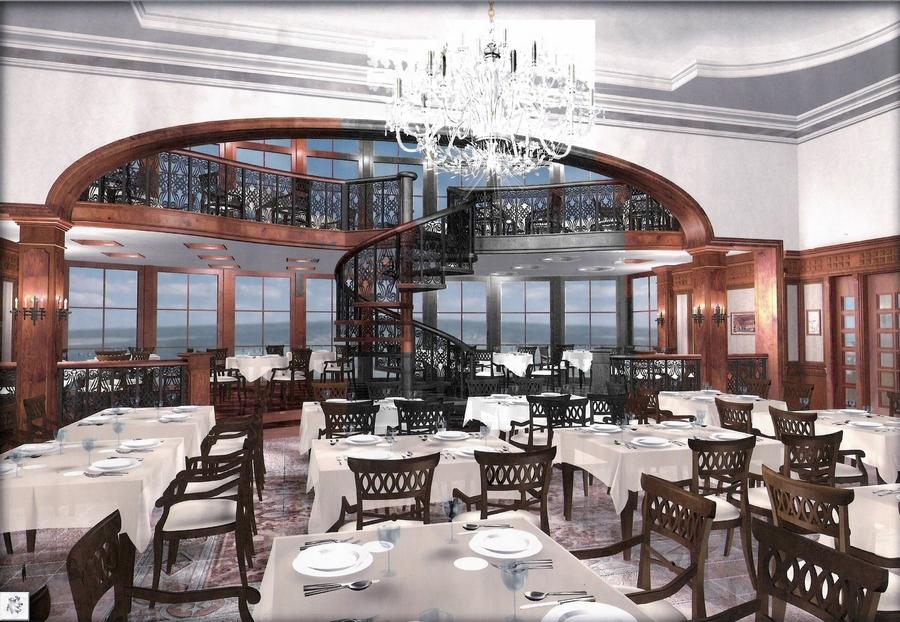 Современная мебель для ресторанов и кафе 14
