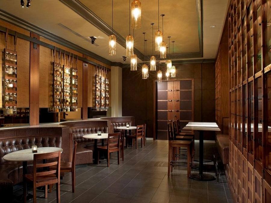 Современная мебель для ресторанов и кафе 16