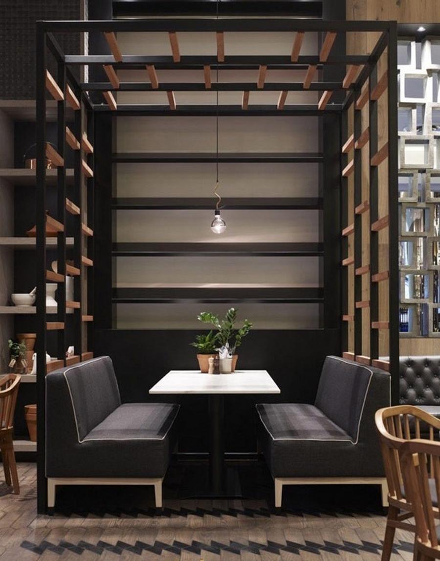 Современная мебель для ресторанов и кафе 23