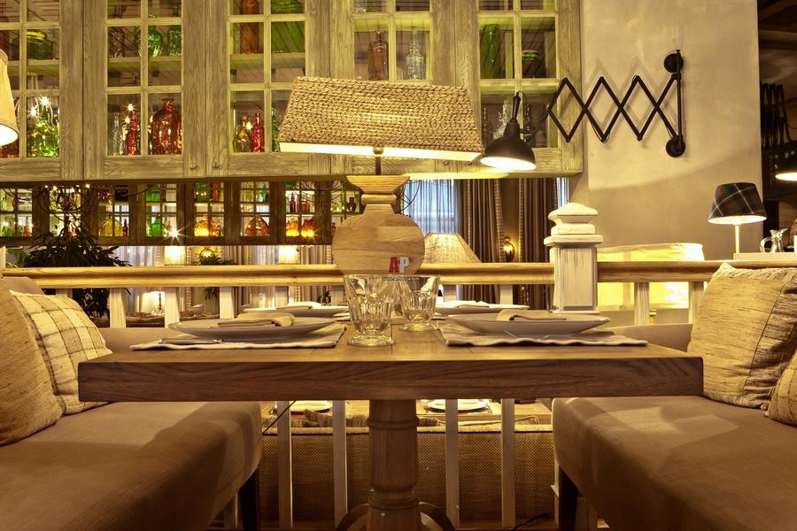 Современная мебель для ресторанов и кафе 24