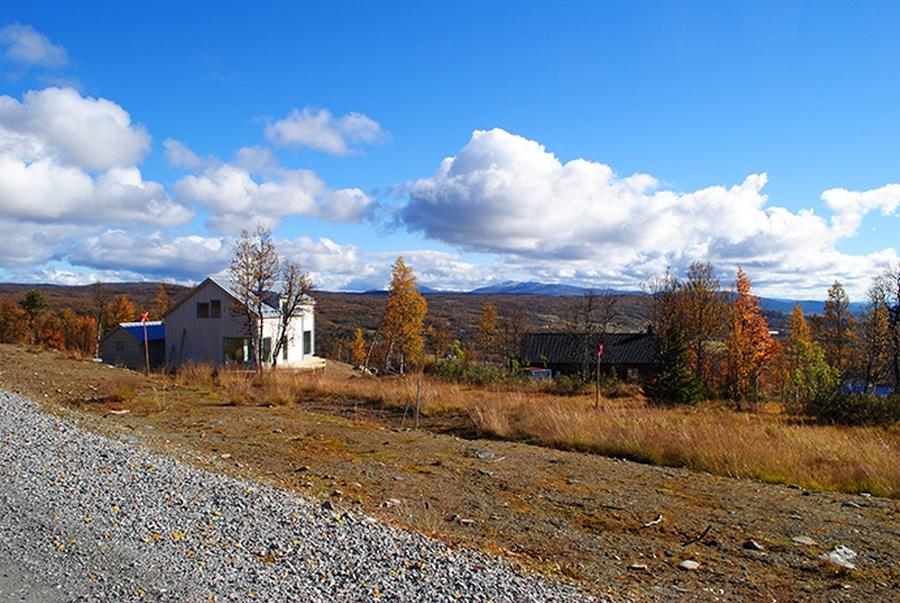 Интересный проект дома на горе 19