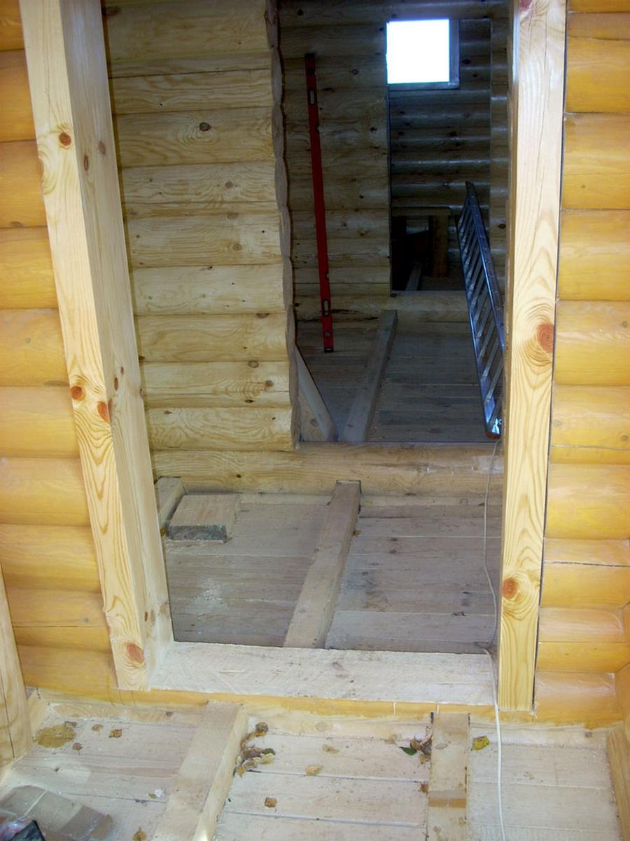 Современные окна пластиковые в деревянном доме 7