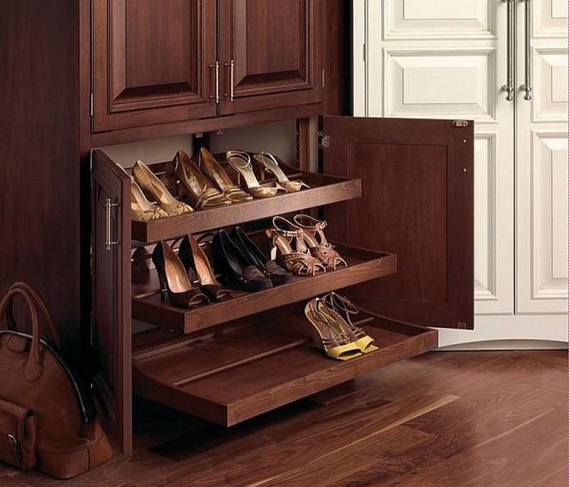 Обувные полки фото