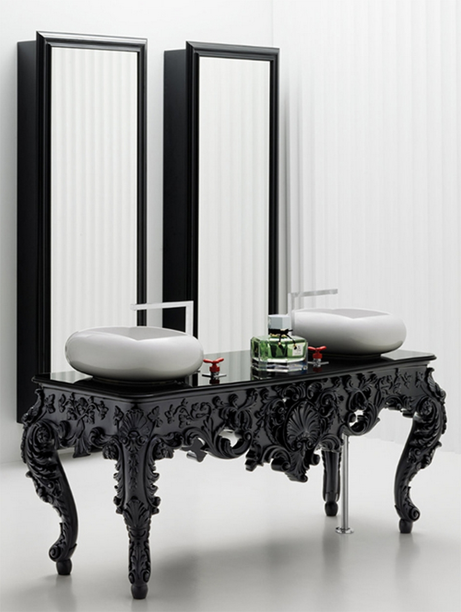 Современная мебель для ванной 7