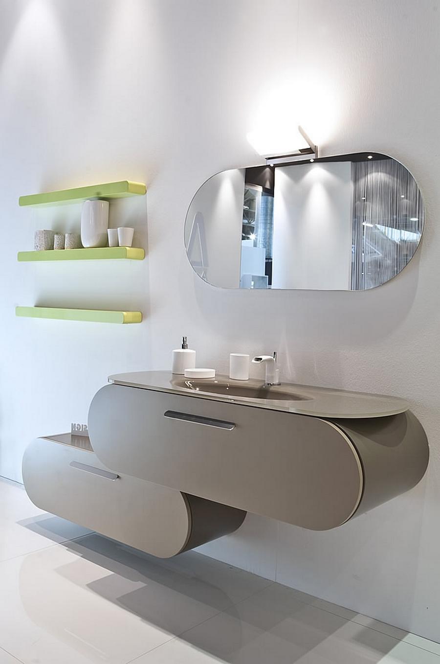 Современная мебель для ванной 12