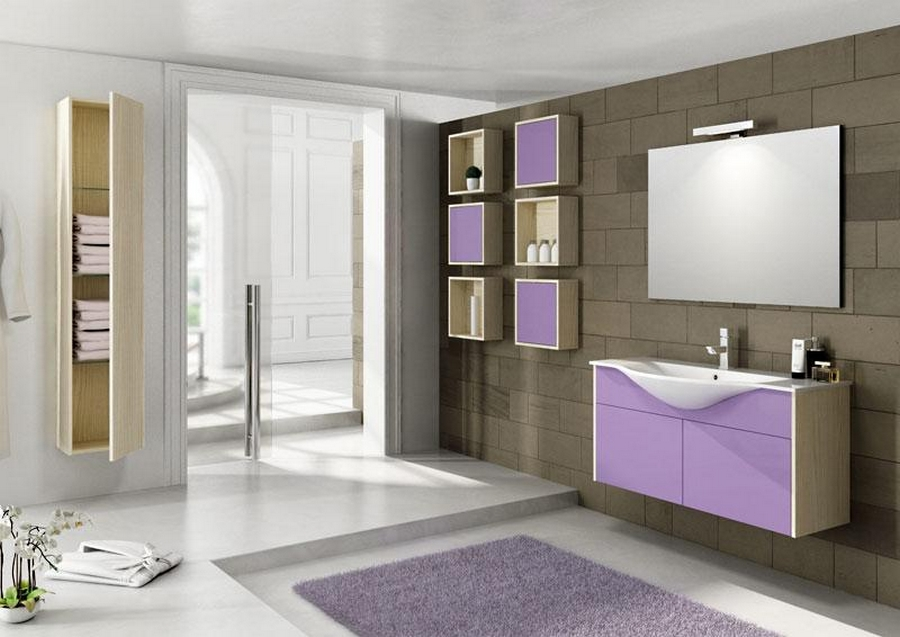Современная мебель для ванной 13