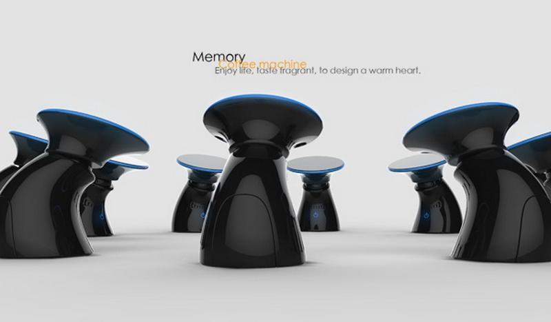 Концепт кофеварки Memory coffee maker 1