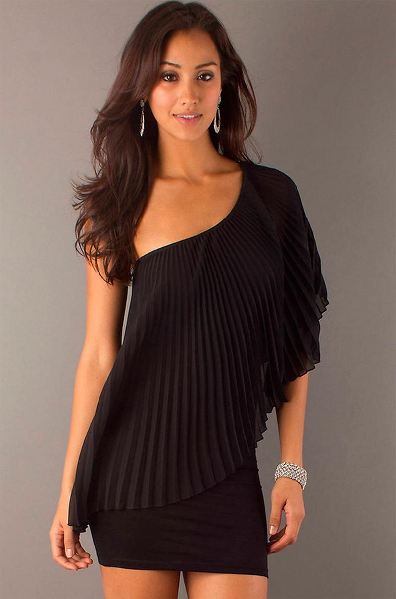 Самые красивые платья для встречи Нового Года 8
