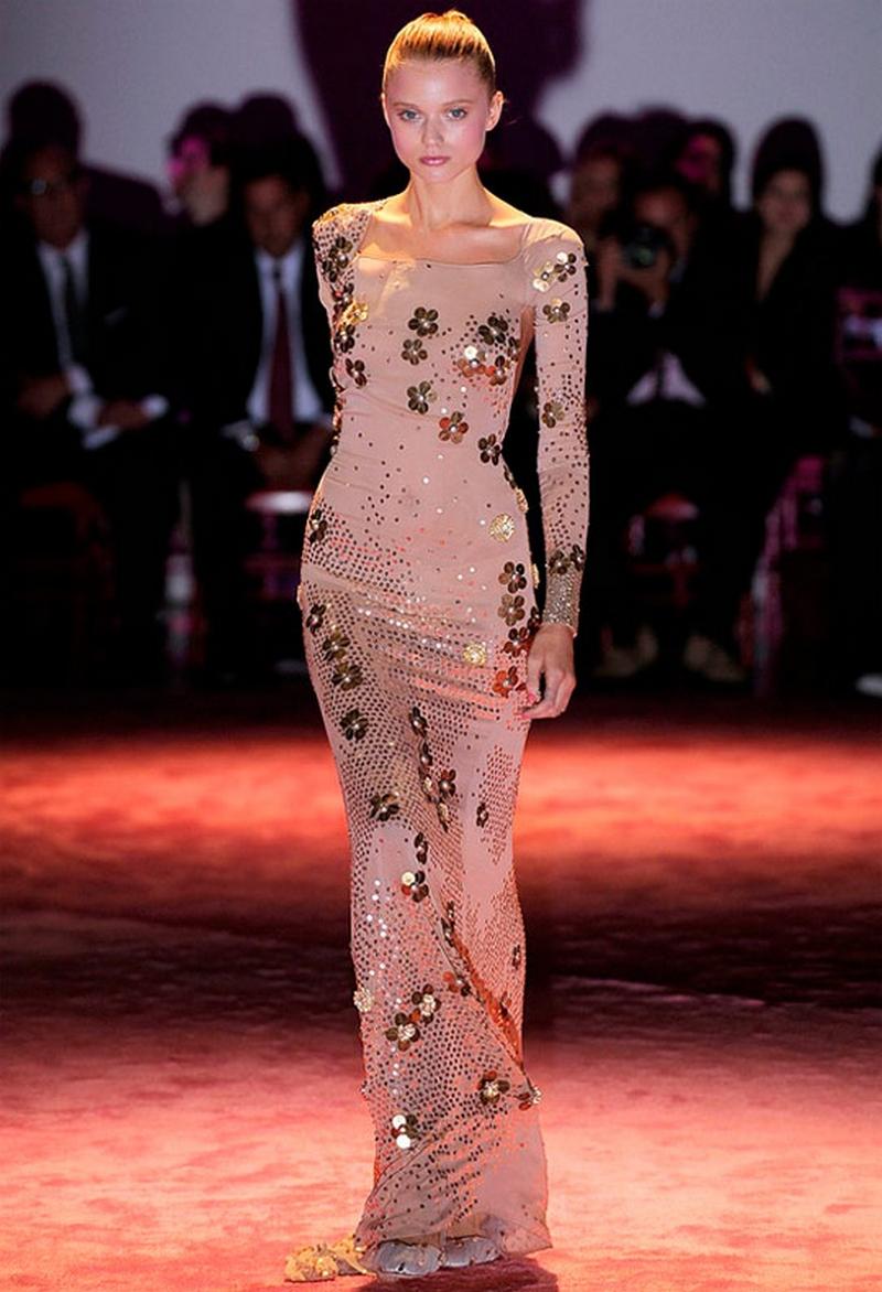 Самые красивые платья для встречи Нового Года 12