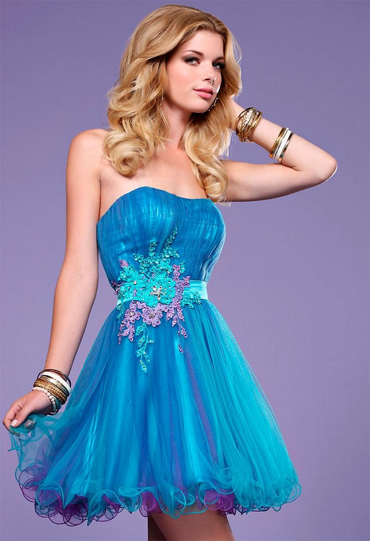 Самые красивые платья для встречи Нового Года 16