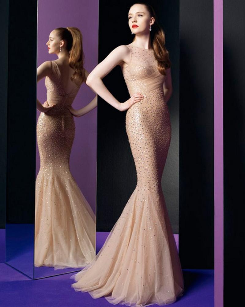 Самые красивые платья для встречи Нового Года 17