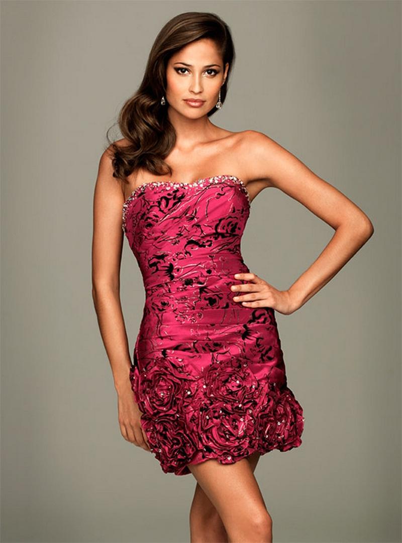 Самые красивые платья для встречи Нового Года 20
