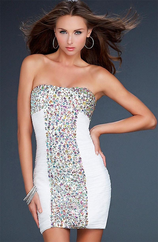 Самые красивые платья для встречи Нового Года 21