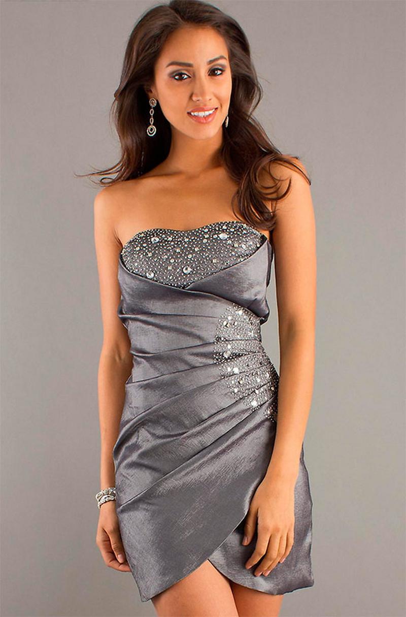 Самые красивые платья для встречи Нового Года 23