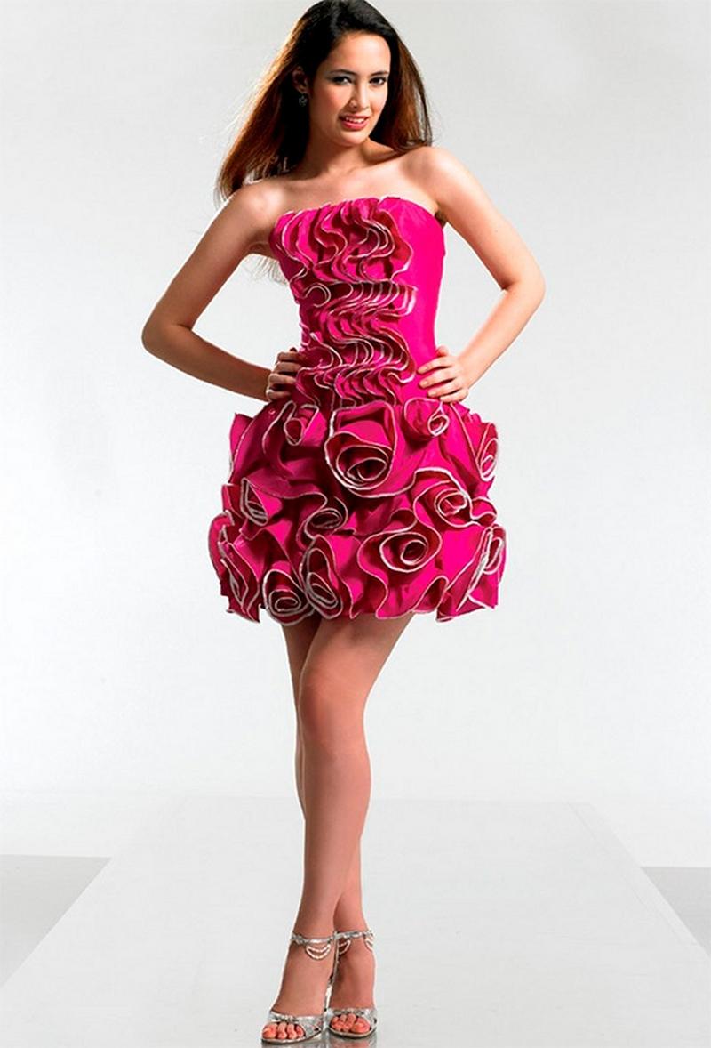 Самые красивые платья для встречи Нового Года 24