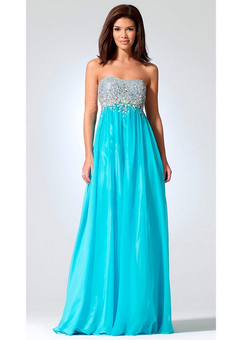 Самые красивые платья для встречи Нового Года 25