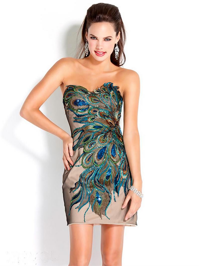 Самые красивые платья для встречи Нового Года 26