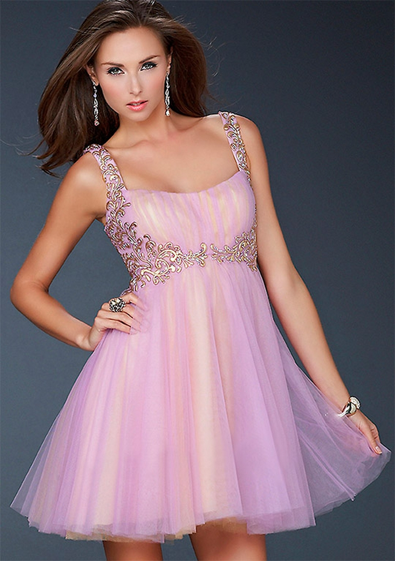 Самые красивые платья для встречи Нового Года 27