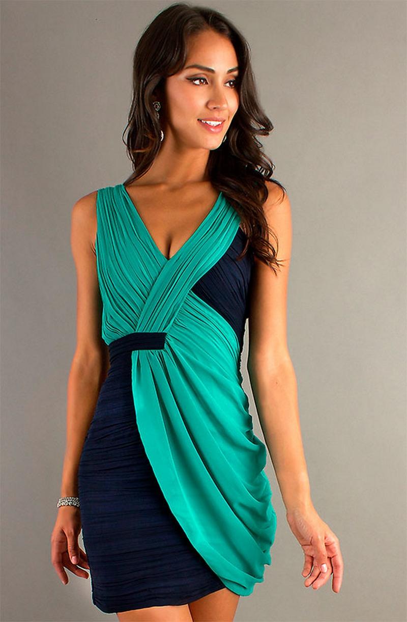 Самые красивые платья для встречи Нового Года 36