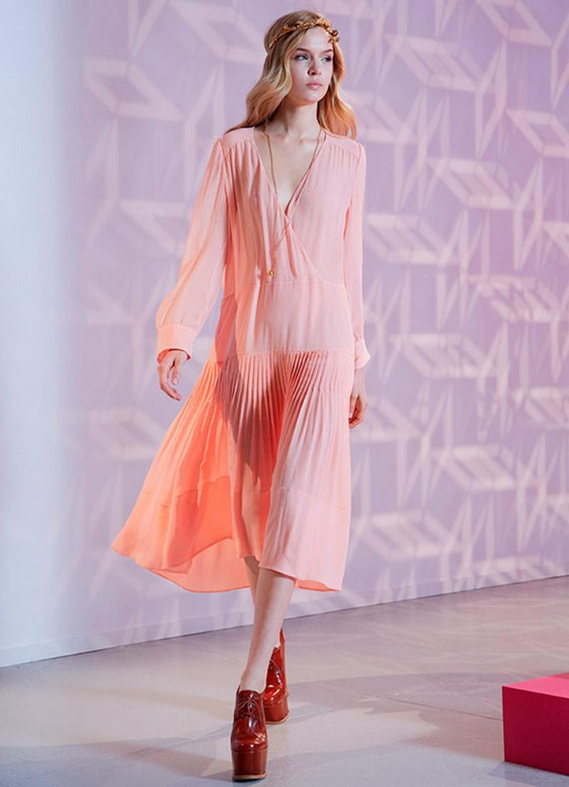 Самые красивые платья для встречи Нового Года 39