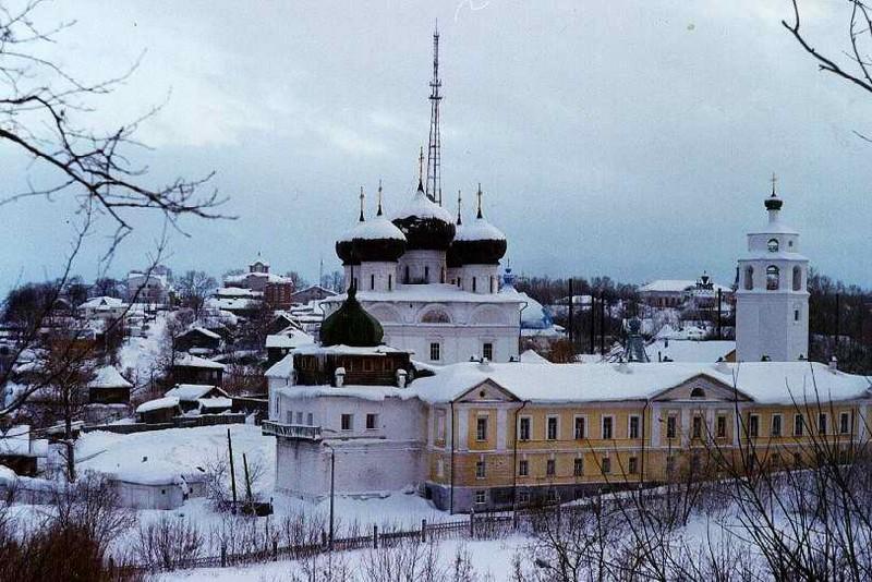 Успенский Трифонов мужской монастырь, один из самых красивых архитектурных ансамблей Кирова 13