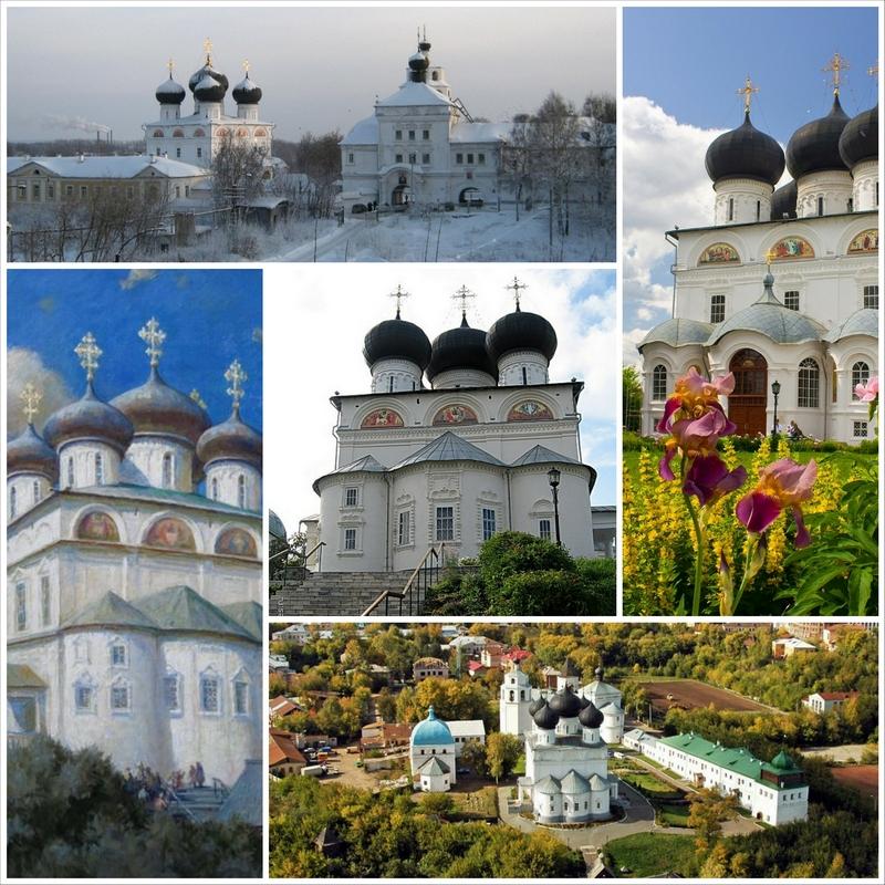 Успенский Трифонов мужской монастырь, один из самых красивых архитектурных ансамблей Кирова