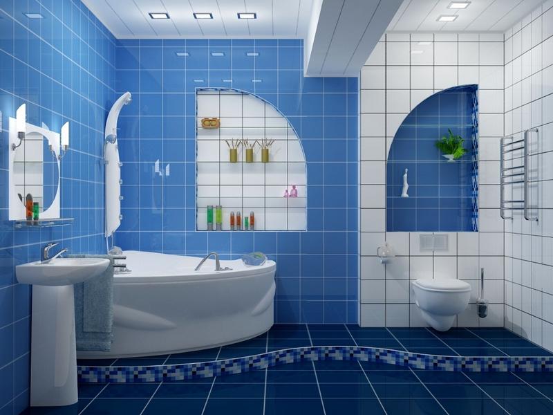 ванная комната - традиционный вариант 3