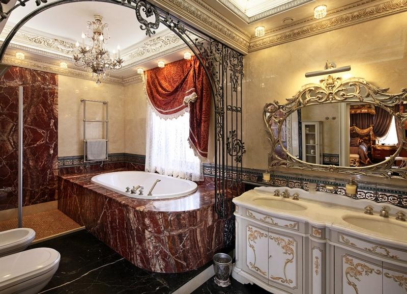 ванная комната - стиль барокко 1