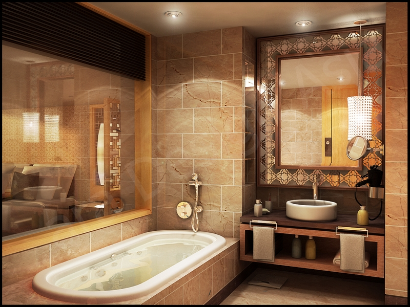 ванная комната - стиль барокко 3