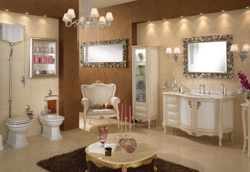 ванная комната - стиль барокко 4